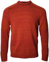 Lords of Harlech - Crosby Crewneck Sweater in Rust