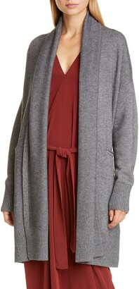 Co Essentials Wool & Cashmere Long Belted Cardigan