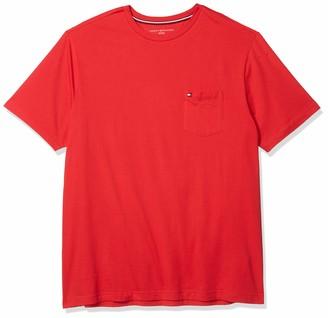 Tommy Hilfiger Big & Tall Men's Big and Tall T Shirt with Pocket
