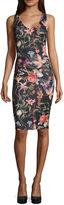 BELLE + SKY V-neck Sleeveless Dress