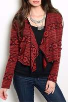 Tea n Rose Black Red Jacket