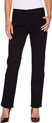 NYDJ Women's Marilyn Straight Leg Denim Jeans Short Inseam