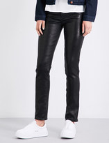 J Brand Maude skinny leather trousers