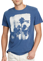 Denim & Supply Ralph Lauren Cotton Jersey Graphic T-shirt, Fairfax Blue