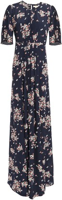 By Ti Mo Floral-print Crepe Maxi Dress