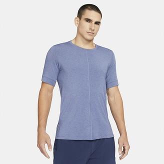 Nike Men's Short-Sleeve Top Yoga Dri-FIT
