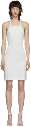 Vejas SSENSE Exclusive White Braided Mini Dress