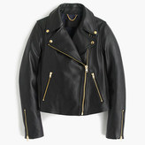 J.Crew Collection leather motorcycle jacket
