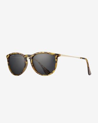 Express Blue Planet Eco-Eyewear Kelsea Round Polarized Sunglasses