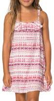 O'Neill Toddler Girl's Andie Floral Stripe Sundress