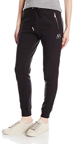 A|X Women`s Draw String Double Zip Pocket Detail Frernch Terry P