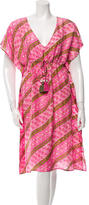Figue Printed Silk Dress w/ Tags