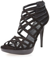 Array Cage Sandal, Black