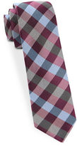 The Tie Bar Checked Wool-Blend Tie