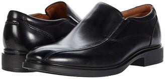 Florsheim Forecast Waterproof Bike Toe Slip-On (Black Smooth) Men's Shoes
