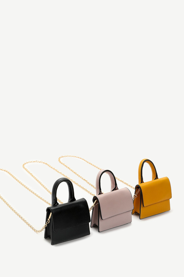 Thumbnail for your product : Ardene Tiny Faux Leather Crossbody Bag
