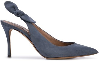 Tabitha Simmons Millie bow slingback pumps