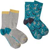 White Stuff Dog Socks 2 Pack