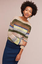 Harlyn Stitched & Striped Pullover