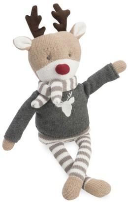 Elegant Baby Knit Cotton Reindeer Toy