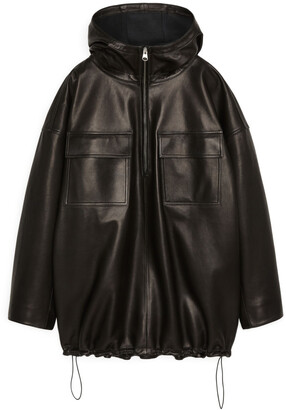 Arket Leather Anorak