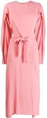 Stella McCartney Layered Midi Dress