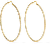 Carolina Bucci Large 18-karat Gold Hoop Earrings - one size