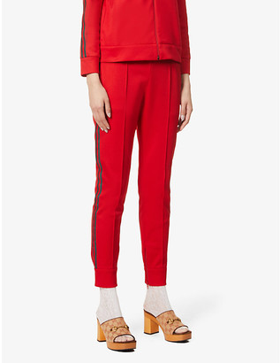 Gucci Track cotton-blend jogging bottoms