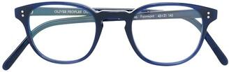 Oliver Peoples 'Fairmont' square frame glasses