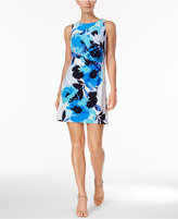 Jessica Howard Petite Floral-Print Shift Dress