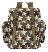 Valentino Camo Star Drawstring Backpack