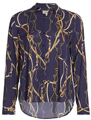 L'Agence Holly Chain Blouse