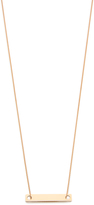 ginette_ny Mini Baguette Necklace