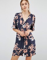 Just Female Floral Romper