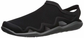 Crocs Men's Swiftwater Mesh Wave Sandal Water Shoe