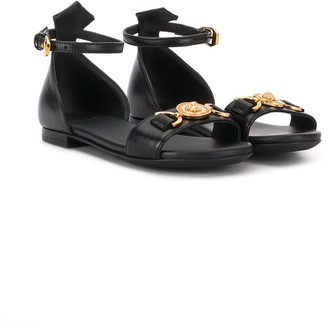 Versace Medusa Medallion Sandals