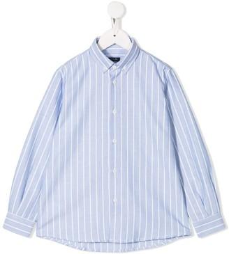 Il Gufo striped chambray shirt