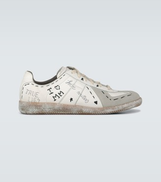 Maison Margiela Exclusive to Mytheresa - Vintage Graffiti sneakers