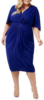 Forever New Curve Nora Twist Cold Shoulder Curve Dress