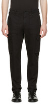 Maison Margiela Black Cargo Trousers