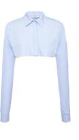 Nina Ricci Poplin Bolero Shirt