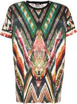 Balmain geometric print T-shirt