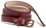 Old Navy Faux-Leather Skinny Belt for Women