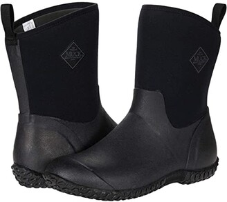 The Original Muck Boot Company Muckster II Mid (Black) Women's Shoes