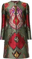 Etro printed coat - women - Polyester/Silk - 40