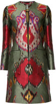 Etro printed coat - women - Silk/Polyester - 40
