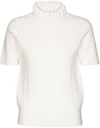See by Chloe Cable-knit turtleneck top