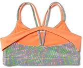 Old Navy Go-Dry Cool Strappy Sports Bra for Girls