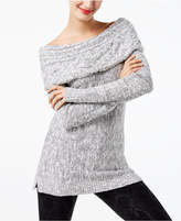 INC International Concepts Petite Boat-Neck Tunic Sweater, Created for Macy's