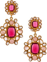 Christie Nicolaides Mirabella Earrings in Pink | FWRD
